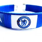 Chelsea FC Club Football Sport Adjustable Bangle Bracelet New