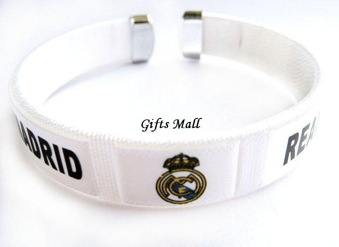 Real Madrid FC Club Football Sport Adjustable Bangle Bracelet New
