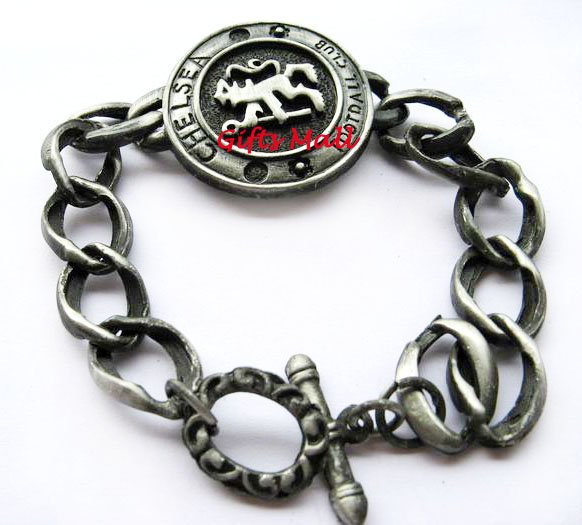 Chelsea FC Club Football Sport Metal Bangle Bracelet New