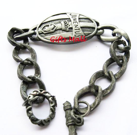 Juventus FC Club Football Sport Metal Bangle Bracelet New