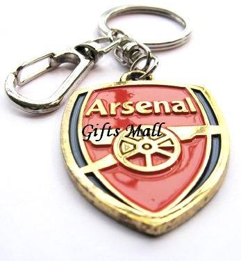 Arsenal Football FC Sports Metal Key Chain Key Ring New