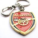 Arsenal Football FC Sports Metal Key Chain Key Ring New