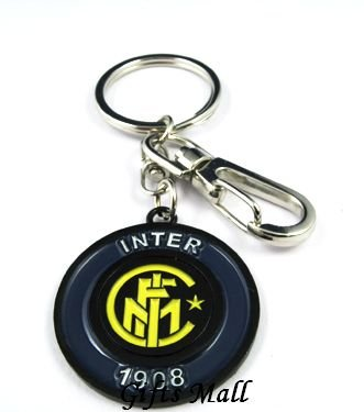 Inter Milan Football FC Sports Metal Key Chain Key Ring New