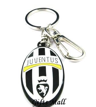 Juventus Football FC Sports Metal Key Chain Key Ring New
