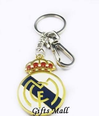Real Madrid Football FC Sports Metal Key Chain Ring New