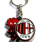 AC Milan Football Sport FC Club Metal Key Chain Ring