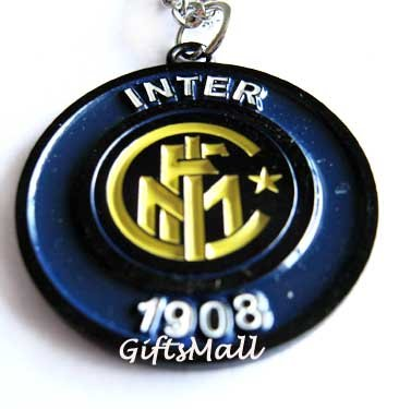 Inter Milan FC Club Football Sport Soccer Colorful Necklace Pendant With Chain