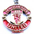 Manchester United FC Club Football Sport Soccer Colorful Necklace Pendant With Chain