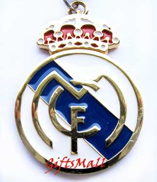 Real Madrid FC Club Football Sport Soccer Colorful Necklace Pendant With Chain