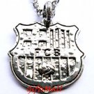 Barcelona FC Club Football Sport Soccer Alloy Necklace