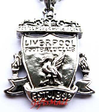 Liverpool FC Club Football Sport Soccer Alloy Necklace