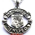 Manchester United  FC Club Football Sport Soccer Alloy Necklace