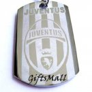 JuventusFC Club Football Sport Soccer Dog Tag Necklace