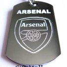 Arsenal FC Club Football Sport Soccer Dog Tag Necklace