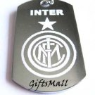 Inter Milan FC Club Football Sport Soccer Dog Tag Necklace