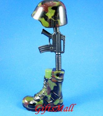 Hat-Gun-Boot Metal Cigarette Lighter Rare