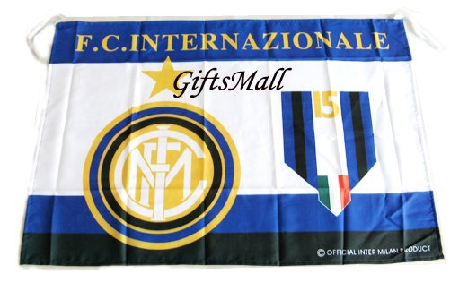 FC Club Sports Football Soccer Official Team Flag Inter Milan
