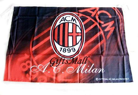 FC Club Sports Football Soccer Official Team Flag AC Milan
