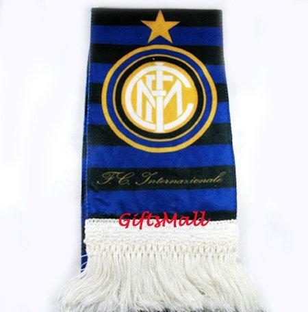 FC Club Sports Football Soccer Flannel Shawl Scarf Inter Milan