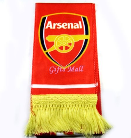 FC Club Sports Football Soccer Flannel Shawl Scarf Arsenal