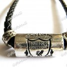 FC Club Football Sport Punk Leather Strap Necklace Liverpool