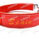 Spain FC Club Football Sport Adjustable Bangle Bracelet New