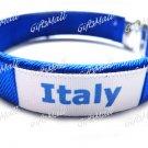 Italy FC Club Football Sport Adjustable Bangle Bracelet New