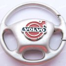 Volvo Steering Wheel Car Chrome Keyring Key Chain New