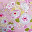 Chrysanthemum in pink//cotton//oxford