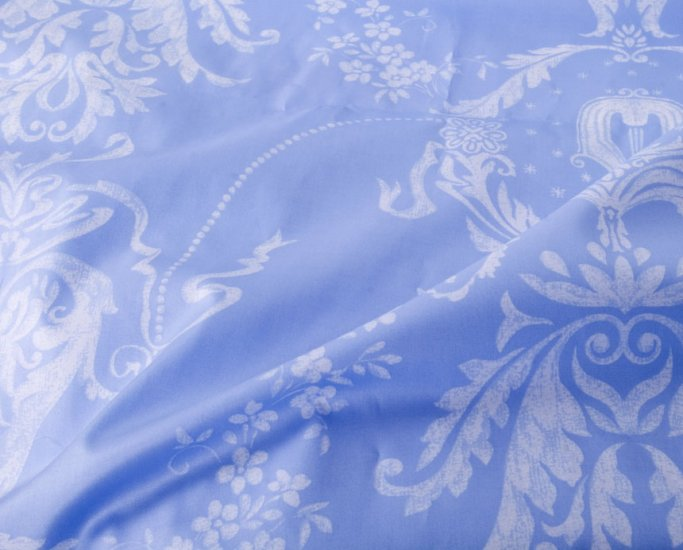 Ace, in skyblue//cotton//twill//2 yards