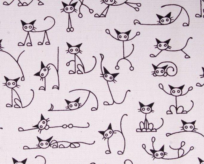 110cmx90cm//cute cats//black