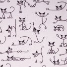 110cmx90cm//cute cats//black