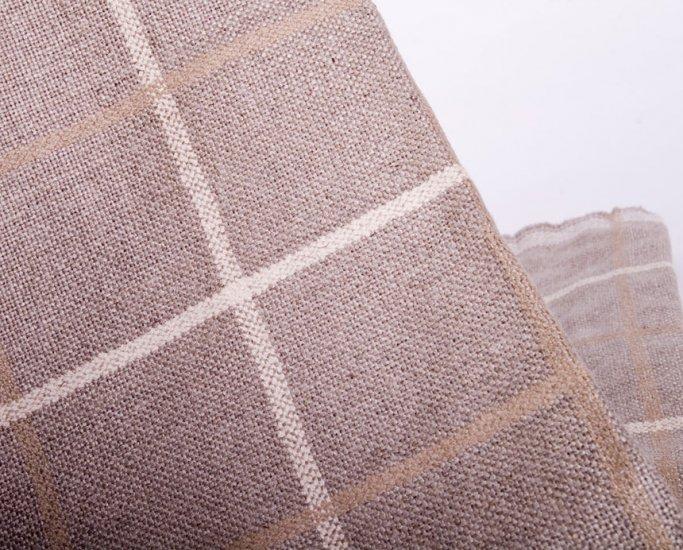 Graceful checks linen//linens//wide width