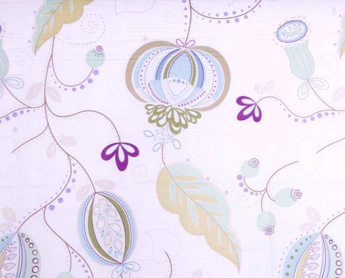 dezzle, white lavender//cotton//2 yards