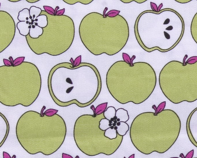 kawaii apple//green