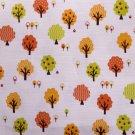 kawaii trees//orange//slub