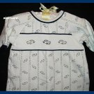 Laura Ashley Boys Cotton Sacque Gown Cars Newborn