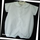 Itsy Bitsy Boy White Nautical Sailor Shortall 3 M 56cm