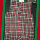 Plantation Shop Boy Red Green Plaid Christmas Jon 3T
