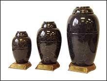 Black Vase Urn