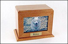 Framed Photo Urn - Horizontal