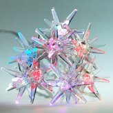 USB Crystal Sparkling Stars - Holiday Color Lights