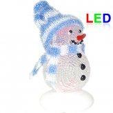 Frosty LED Snowman Christmas Ornament