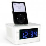 IPod Stereo Speaker Docking Station with Alarm Clock