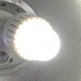 LED Light Bulb with Neg-Ion Generator - White (6W)