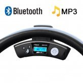 Car Steering Wheel Bluetooth Adapter + Wireless Earpiece