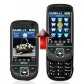 QuickSlide Quad Band Dual SIM Cell Phone + TV and Bluetooth