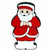 Fun Santa MP3 Player! Holiday Necklace Pocket MP3