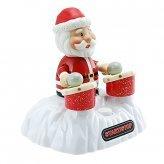 USB Drumming Santa with 4 Christmas Songs