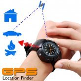 GPS Watch (Location Finder + Data Logger + Photo Tagger)